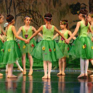 Peter Pan και μελέτη  στη Bayadere – 2015 – Θέατρο Άννα και Μαρία Καλουτά